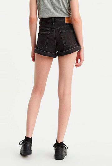 pantalones cortos Levi's SHORT negros