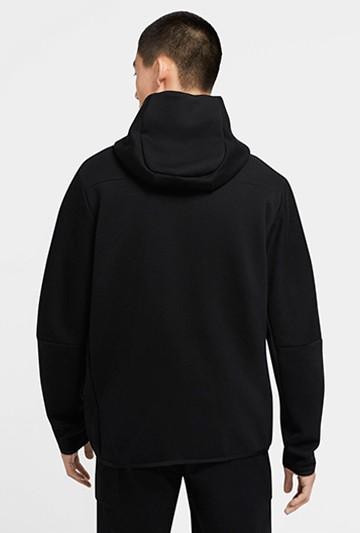 Chaqueta Nike Sportswear Tech Fleece negra