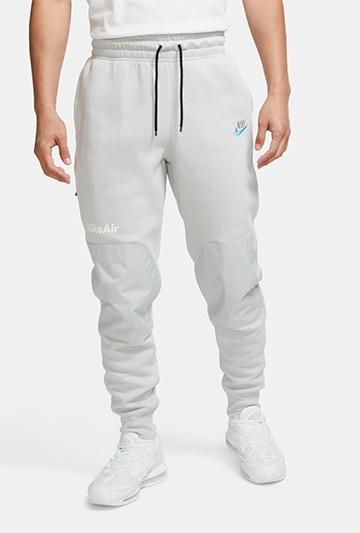 Pantalón Nike Air Fleece gris