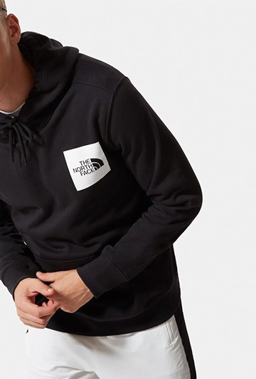 Sudadera The North Face M FINE HOODIE negra