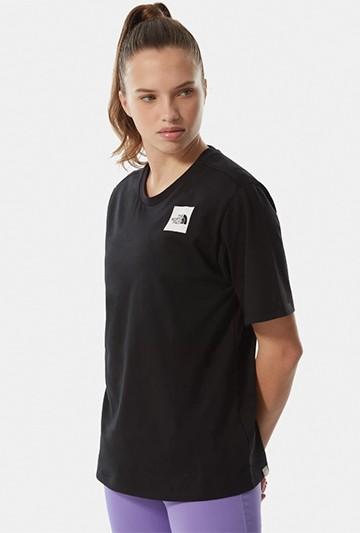 Camiseta The North Face W BF FINE TEE negra