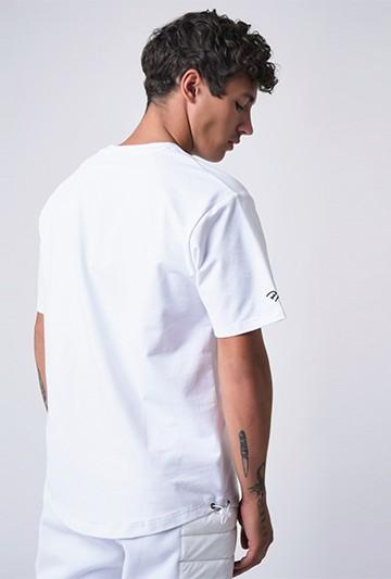 Camiseta Project X Paris loose blanca