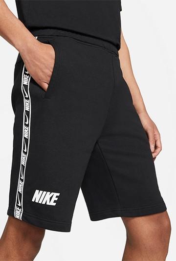 pantalon Nike M NSW REPEAT FT SHORT negro