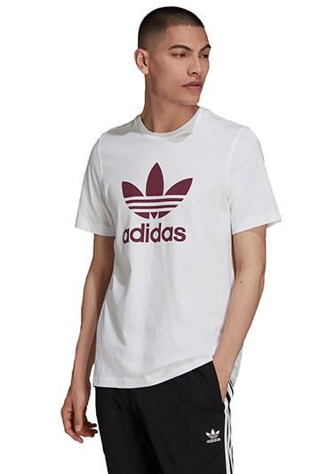 Camiseta adidas ADICOLOR CLASSICS TREFOIL blanca