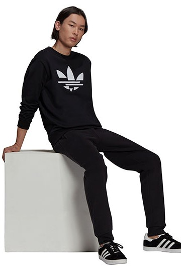 Sudadera adidas ST CREW Negra
