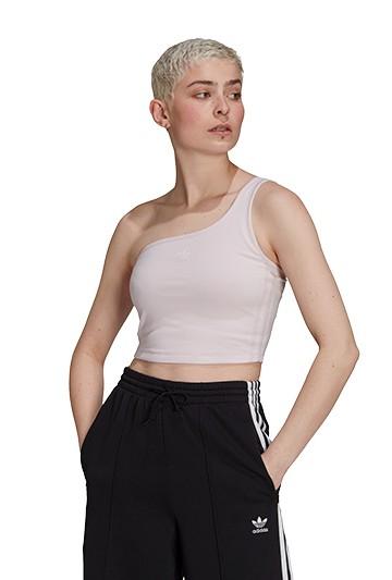 Camiseta adidas ASYMMETRIC TOP Rosa