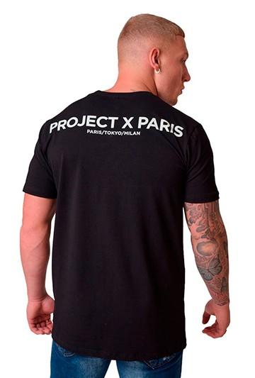 Camiseta Project X Paris P&P CAMISETA M/C NEGRA Negra