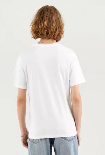 Camiseta Levi's HOUSEMARK GRAPHIC TEE blanca