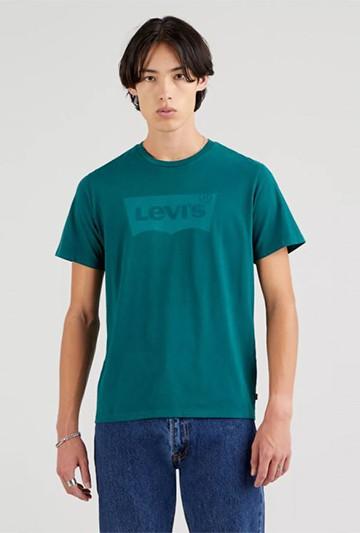 Camiseta Levi's HOUSEMARKED GRAPHIC TEE verde