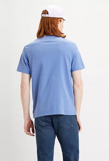 Camiseta Levi's ORIGINAL HOUSEMARKED TEE azul