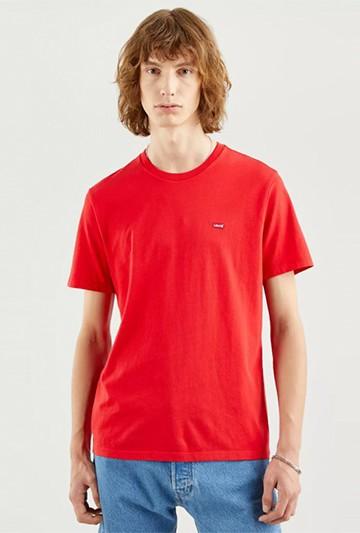 Camiseta Levi's ORIGINAL HOUSEMARKED TEE roja