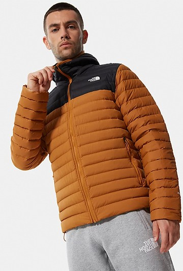 Chaqueta The North Face M STRETCH DOWN HOODIE Negras
