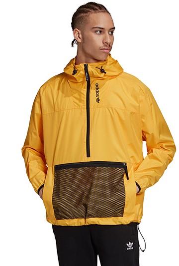 Cortavientos adidas Adventure amarillo