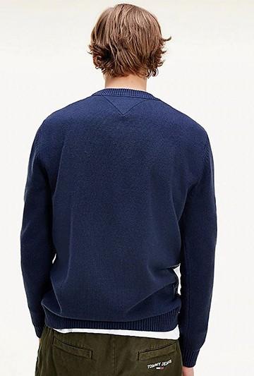 Jersey Tommy Hilfiger TJM BLOCK STRIPE SWEATER azul