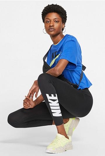 leggins Nike Sportswear Club High-R negros