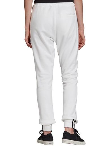 Pantalón adidas CUFF PANT WHITE blancos