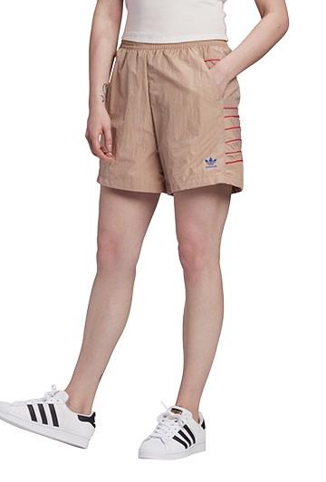 Pantalón adidas ADICOLOR LARGE LOGO beige