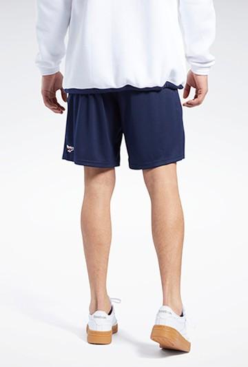 Pantalón Reebok CL D SOCCER SHORT azul