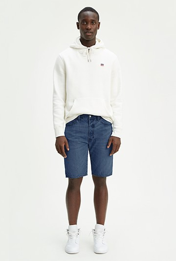 pantalones cortos Levi´s 501® LEVI'S® ORGINAL HEMMED azules