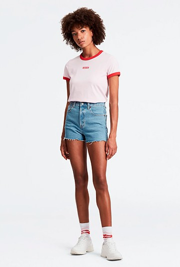 pantalones cortos Levi´s RIBCAGE Azules