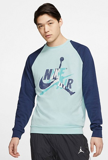 Sudadera Nike Jordan Jumpman Classics azul