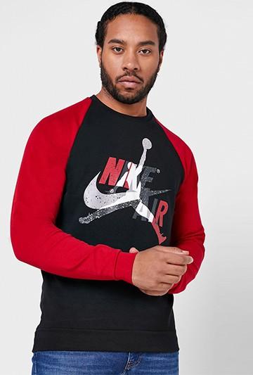 Sudadera Nike Jordan Jumpman Classics negra
