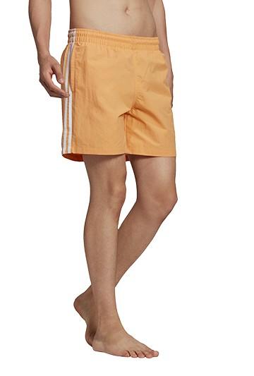 Bañador adidas 3 BANDAS Naranja