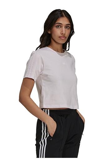 Camiseta adidas CROPPED Rosas