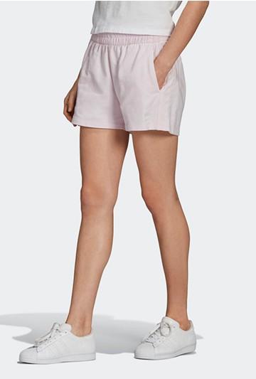 Pantalón adidas CORTO 3 BANDAS Rosa