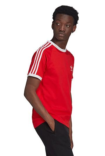 Camiseta adidas ADICOLOR CLASSICS 3 BANDAS Roja