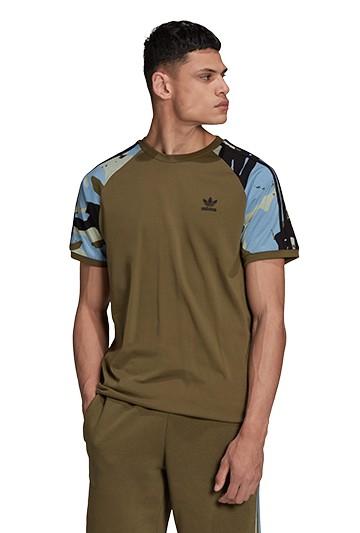 Camiseta adidas CAMO CALI verde