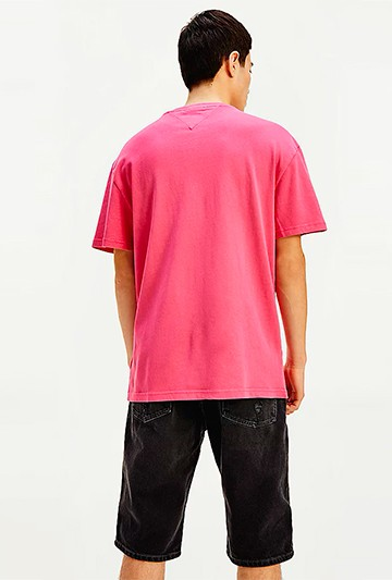 Camiseta Tommy Hilfiger BRIGHT CERISE Rosa