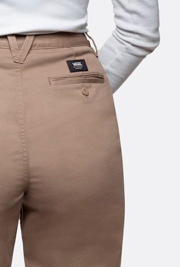 Pantalón Vans WM AUTHENTIC marrón