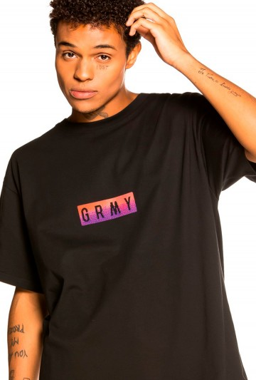 Camiseta GRIMEY LA DOMINATION Negra