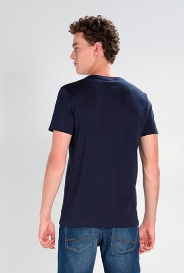 Camiseta Lacoste Basic azul