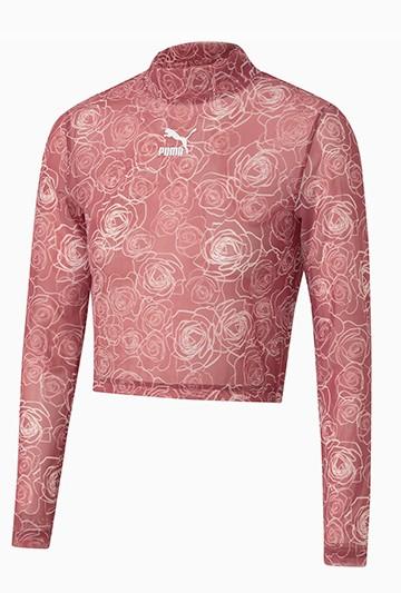 Camiseta Puma Wild Rose by Aitana Mesh Rosa