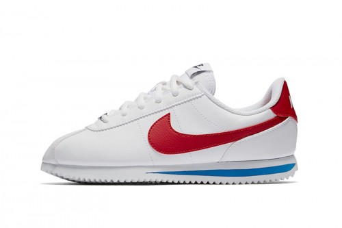 Zapatillas Nike Boys' Cortez Basic SL (GS) Shoe Blancas