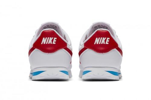 Zapatillas Nike Boys' Cortez Basic SL (GS) Shoe Blancas
