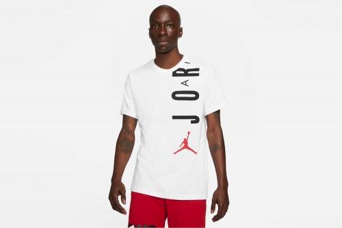 Camiseta Nike Jordan Air Stretch blanca