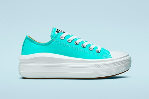 Zapatillas Converse CTAS MOVE OX Azules