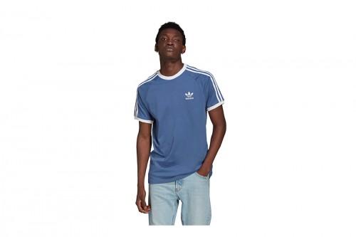 Camiseta adidas 3-STRIPES TEE Azules