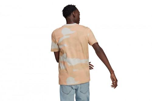 Camiseta adidas CAMO AOP TONGUE marrón