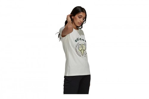 Camiseta adidas GRAPHIC Blanca
