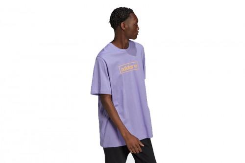 Camiseta adidas LINEAR LOGO TEE LPURPL morada