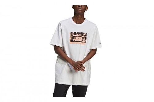Camiseta adidas PHOTO Blanca