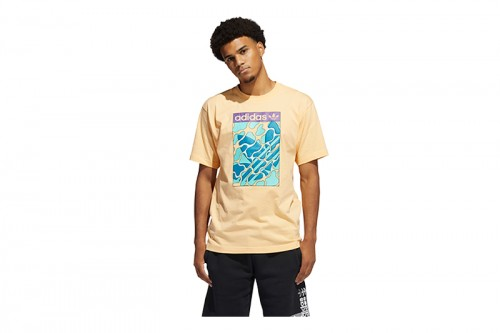 Camiseta adidas SUMMER TONGUE L Naranjas