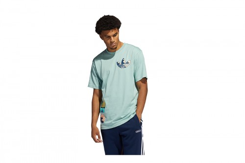 Camiseta adidas SURREAL SUMMER azul