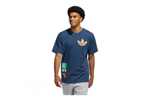 Camiseta adidas SURREAL SUMMER Azules