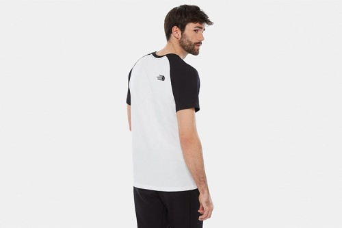 Camiseta The North Face M SS RAGLAN EASY blanca
