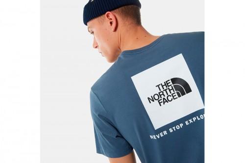 Camiseta The North Face RED BOX azul